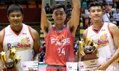 Tiebreaker Times Yap, Belga, Guevarra to defend crowns in PBA All-Star Skills Challenge Basketball News PBA  Rey Guevarra PBA Season 44 James Yap Beau Belga 2019 PBA Philippine Cup
