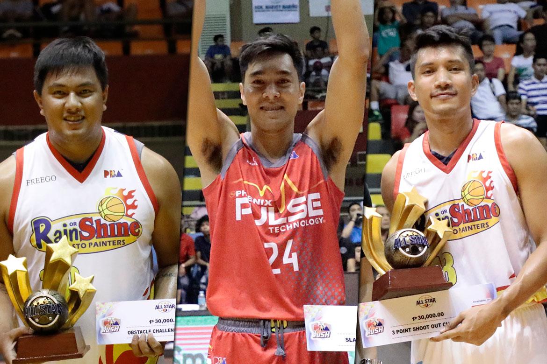 Tiebreaker Times Yap, Belga, Guevarra to defend crowns in PBA All-Star Skills Challenge Basketball News PBA  Rey Guevarra PBA Season 44 James Yap Beau Belga 2019 PBA Philippine Cup
