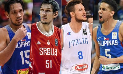 Tiebreaker Times Potential showdowns with Marjanovic, Gallinari on the horizon for Gilas Pilipinas Basketball Gilas Pilipinas News  Serbia (Basketball) Miroslav Raljica Milos Teodosic Marco Belinelli Italy (Basketball) Gilas Elite Boban Marjanovic Angola (Basketball) 2019 FIBA World Cup