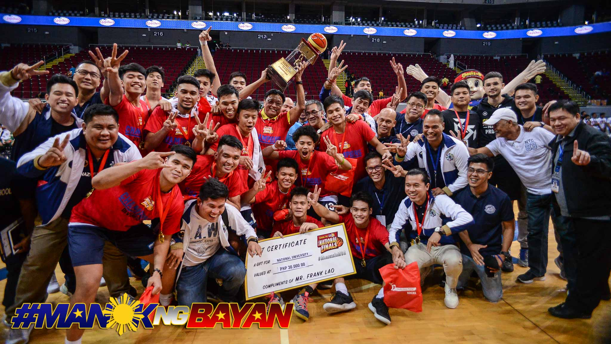 Tiebreaker Times NU Bullpups makes history as first back-to-back NBTC National Champions Basketball CSB NBTC News NU  Terrence Fortea Sidney Mosqueda Reyland Torres NU Juniors Basketball Marvin Bienvenida LSGH Juniors Basketball Joshua David Inand Fornilos Goldwin Monteverde Cyril Gonzales Carl Tamayo 2019 NBTC Season