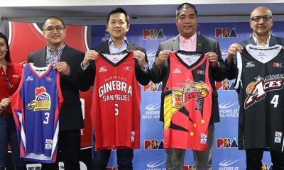 Tiebreaker Times Fans can now bring home replica PBA jerseys, thanks to World Balance News PBA  World Balance PBA Season 44