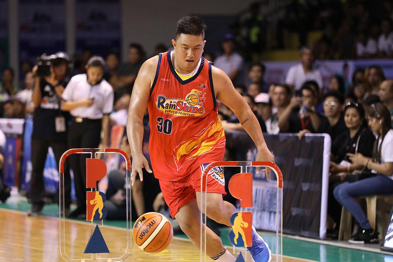 Tiebreaker Times Beau Belga retains Obstacle Challenge title Basketball News PBA  PBA Season 44 Beau Belga 2019 PBA All-Star Game