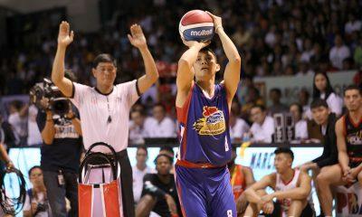 Tiebreaker Times PJ Simon takes three-point kingship from pal James Yap Basketball News PBA  PJ Simon PBA Season 44 2019 PBA All-Star Game