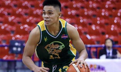 Tiebreaker Times 'Future of FEU' L-Jay Gonzales thrilled to be under tutelage of PBA greats Basketball FEU News PBA D-League  Olsen Racela L-Jay Gonzales ChaDao-FEU Tamaraws 2019 PBA D-League Season