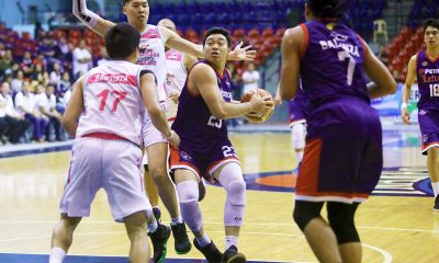 Tiebreaker Times Alvin Pasaol ready to fulfill bigger role with Petron-Letran Basketball CSJL News PBA D-League  Letran-Petron Knights Alvin Pasaol 2019 PBA D-League Season