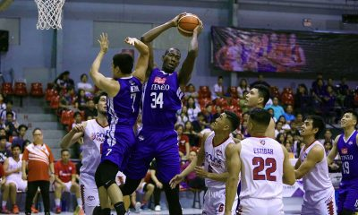 Tiebreaker Times Cignal-Ateneo wastes Joshua Munzon's 41-point game with 30-point rout of AMA ADMU Basketball News PBA D-League  William Navarro Thirdy Ravena Tab Baldwin Mark Herrera Joshua Munzon Franky Johnson BJ Andrade Ateneo-Cignal Blue Eagles Angelo Kouame AMA Online Education Titans 2019 PBA D-League Season