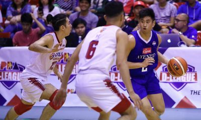Tiebreaker Times Preseason tilts an opportunity for BJ Andrade to impress Tab Baldwin ADMU Basketball News PBA D-League  Tab Baldwin BJ Andrade Ateneo-Cignal Blue Eagles 2019 PBA D-League Season