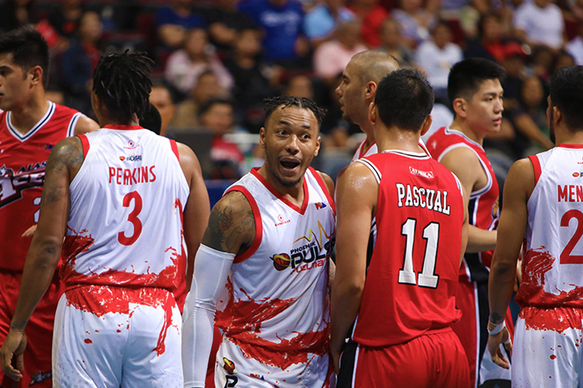Tiebreaker Times PBA PC POW Calvin Abueva asserts aggressiveness while still being in control Basketball News PBA  Phoenix Fuel Masters PBA Season 44 PBA Player of the Week Calvin Abueva 2019 PBA Philippine Cup
