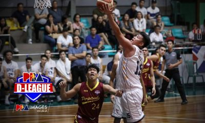 Tiebreaker Times Gelo Vito says D-League stint an avenue to show there's more to him Basketball News PBA D-League  Wangs Basketball Couriers Gelo Vito 2019 PBA D-League Season