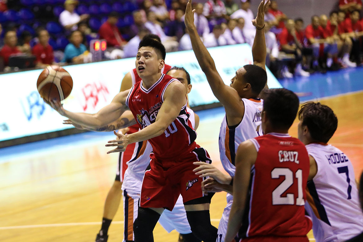 Tiebreaker Times Jeron Teng gets best gift on eve of 25th birthday -- an Alaska win Basketball News PBA  PBA Season 44 Jeron Teng Alaska Aces 2019 PBA Philippine Cup