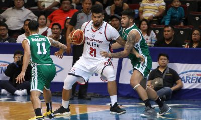 Tiebreaker Times Rabeh Al-Hussaini comes back to Blackwater a changed man Basketball News PBA  Rabeh Al-Hussaini PBA Season 44 Blackwater Elite 2019 PBA Philippine Cup