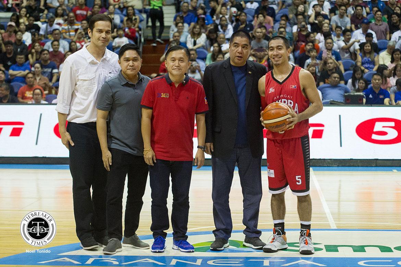 Tiebreaker Times Ironman feat a 'miracle' for LA Tenorio Basketball News PBA  PBA Season 44 LA Tenorio Barangay Ginebra San Miguel 2019 PBA Philippine Cup