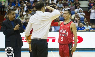 Tiebreaker Times LA Tenorio gets promoted by Alvin Patrimonio: 'Hindi na siya Tinyente. Captain na siya' Basketball News PBA  PBA Season 44 Magnolia Hotshots Alvin Patrimonio 2019 PBA Philippine Cup