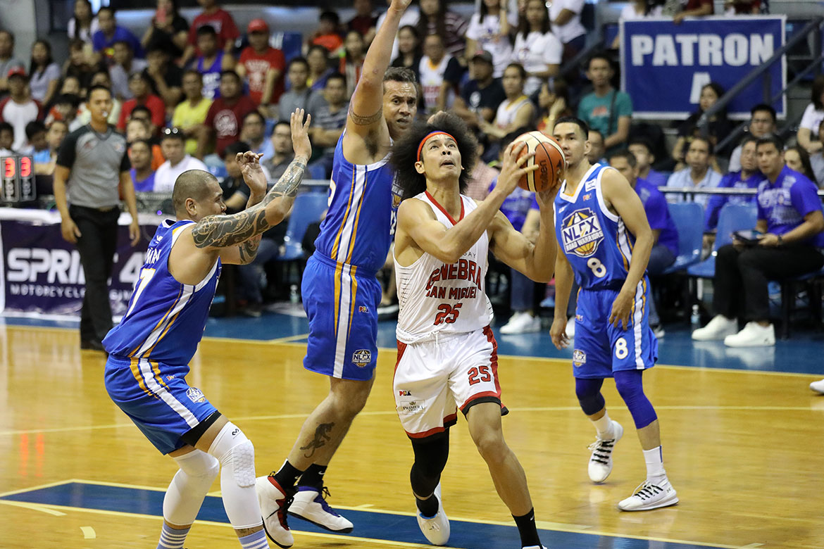 Tiebreaker Times Ginebra storms back from early deficit, overcomes NLEX to punch QF berth Basketball News PBA  Yeng Guiao Tim Cone Scottie Thompson Philip Paniamogan PBA Season 44 NLEX Road Warriors LA Tenorio Kevin Ferrer Juami Tiongson JR Quinahan JP Erram Japeth Aguilar Greg Slaughter Barangay Ginebra San Miguel 2019 PBA Philippine Cup