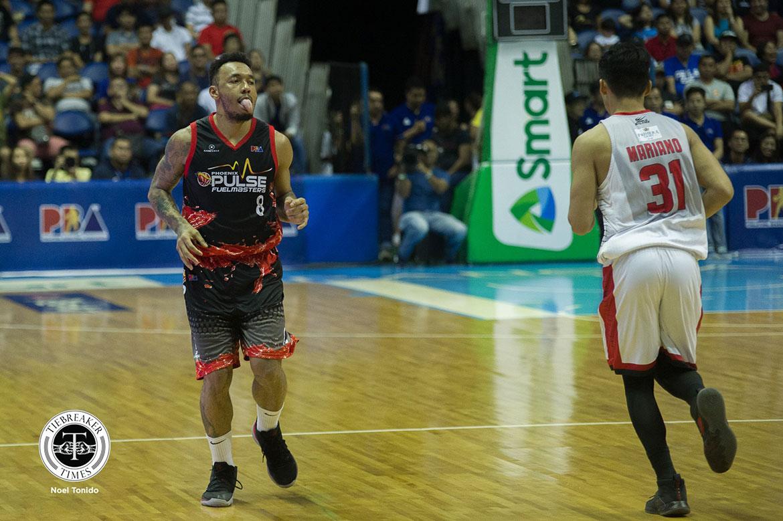 Tiebreaker Times Calvin Abueva gets dose of own medicine: 'Na-Japeth Aguilar eh' Basketball News PBA  Phoenix Fuel Masters PBA Season 44 Calvin Abueva 2019 PBA Philippine Cup