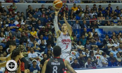 Tiebreaker Times LA Tenorio moves on cusp of being PBA's new Ironman Basketball News PBA  PBA Season 44 LA Tenorio Barangay Ginebra San Miguel 2019 PBA Philippine Cup