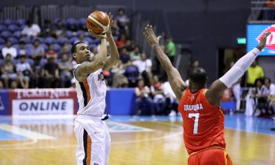 Tiebreaker Times Chris Newsome glad to finally complete game-saving alley-oop Basketball News PBA  PBA Season 44 Meralco Bolts Chris Newsome 2019 PBA Philippine Cup