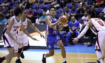 Tiebreaker Times PBA PC POW Bong Galanza continues to repay Yeng Guiao's trust Basketball News PBA  PBA Season 44 NLEX Road Warriors Bong Galanza 2019 PBA Philippine Cup