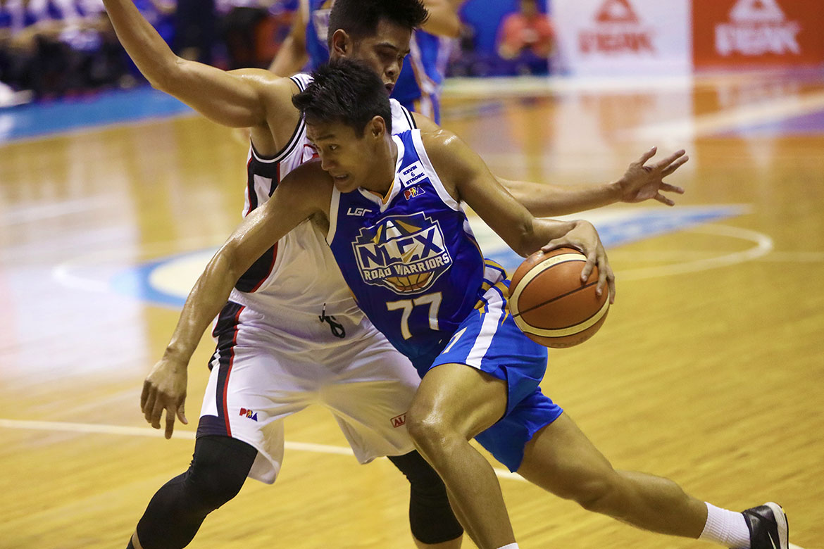 Tiebreaker Times NLEX survives Yeng Guiao's ejection, deals Alaska back-to-back routs Basketball News PBA  Yeng Guiao PBA Season 44 NLEX Road Warriors JR Quinahan Jojo Lastimosa Jeron Teng Jansen Rios Davon Potts Bong Galanza Alex Compton Alaska Aces 2019 PBA Philippine Cup