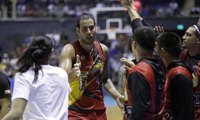 Tiebreaker Times Extra push for Standhardinger in return as loved ones watched him live Basketball News PBA  San Miguel Beermen PBA Season 44 Christian Standhardinger 2019 PBA Philippine Cup