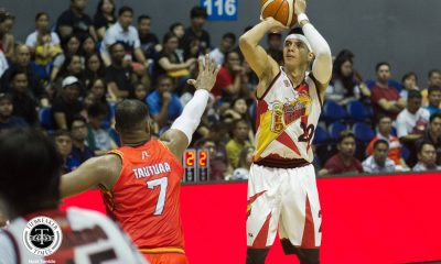 Tiebreaker Times Arwind Santos confident he can get to 900 career blocks Basketball News PBA  San Miguel Beermen PBA Season 44 Arwind Santos 2019 PBA Philippine Cup