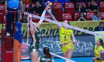 Tiebreaker Times F2 Logistics recovers, sweeps Sta. Lucia News PSL Volleyball  Sta. Lucia Lady Realtors Ramil De Jesus Rachel Austero Lindsay Stalzer F2 Logistics Cargo Movers Dawn Macandili Casey Schoenlein Becky Perry Babes Castillo Alex Cabanos 2019 PSL Season 2019 PSL Grand Prix