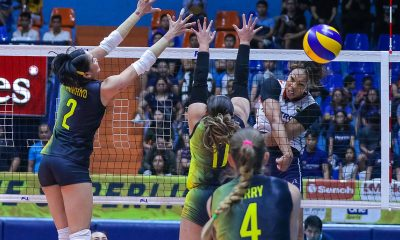 Tiebreaker Times Kath Bell drops 30 on F2 Logistics, leads Petron to 11th straight win News PSL Volleyball  Stephanie Niemer Shaq delos Santos Rhea Dimaculangan Ramil De Jesus Petron Blaze Spikers Lindsay Stalzer Kath Bell F2 Logistics Cargo Movers Denden Lazaro Becky Perry 2019 PSL Season 2019 PSL Grand Prix