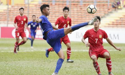 Tiebreaker Times Jarvey Gayoso brace goes for naught as Philippines falls to Laos comeback Football News Philippine Azkals  Salvador Salvacion Laos (Football) Jarvey Gayoso 2020 AFC U-23 Championship Qualifiers