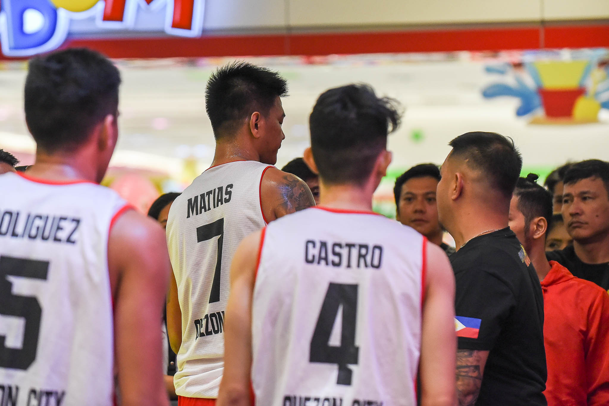 Tiebreaker Times Ronnie Matias echoes Jawo after scuffle with Valenzuela: 'Kung ayaw nila masaktan, mag-chess sila' 3x3 Basketball Chooks-to-Go Pilipinas 3x3 News  Ronnie Matias Quezon City-Zark's Jawbreakers 2019 Chooks-to-Go Pilipinas 3x3 Season 2019 Chooks-to-Go Pilipinas 3x3 President's Cup