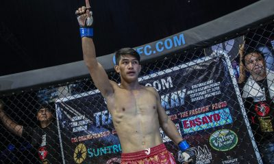 Tiebreaker Times Danny Kingad draws new opponent for ONE Flyweight GP Mixed Martial Arts News ONE Championship  ONE: A New Era Danny Kingad