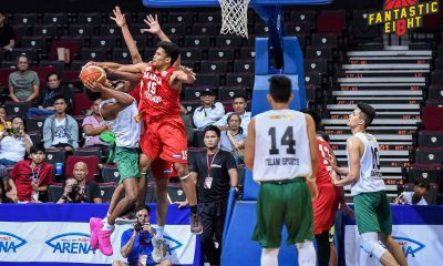 Tiebreaker Times San Beda's Ynot proves he is an All-Star with game-sealing block of Green Basketball NBTC News SBC  Tony Ynot San Beda Juniors Basketball 2019 NBTC Season