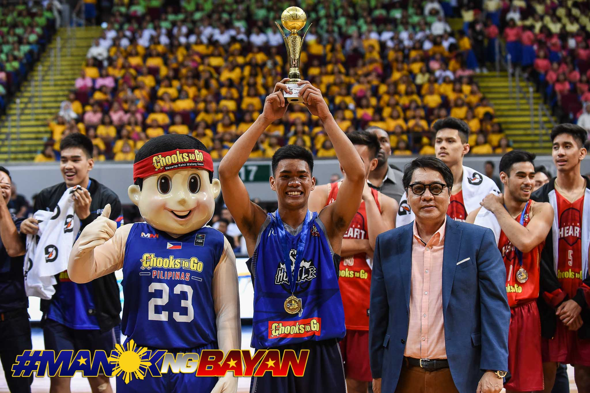 Tiebreaker Times Mark Nonoy takes charge as Hustle tops Heart in NBTC All-Star Game Basketball NBTC News  RJ Abarrientos Metta World Peace Mark Nonoy Kai Ballungay Jalen Green Chris Tamayo Chris Gavina Charles Tiu 2019 NBTC Season