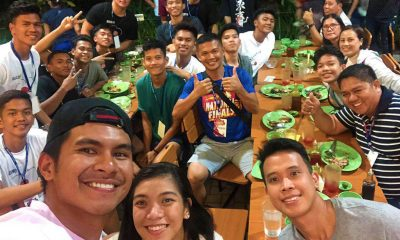 Tiebreaker Times NBTC alums Kiefer and Baser, Alyssa share blessing to Eastern Samar Basketball NBTC News  Wilmar Candido Roy Lobrigas Kiefer Ravena Dolores National High School Baser Amer Alyssa Valdez 2019 NBTC Season