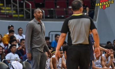 Tiebreaker Times Metta World Peace called for tech in FilAm Sports loss to San Beda Basketball NBTC News  Metta World Peace FilAm Sports USA 2019 NBTC Season