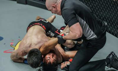Tiebreaker Times Eduard Folayang goes to sleep, loses Lightweight title to Shinya Aoki Mixed Martial Arts News ONE Championship  Shinya Aoki ONE: A New Era Eduard Folayang