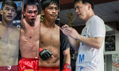 Tiebreaker Times Mark Sangiao confident Team Lakay can finish bouts in ONE: A New Era Mixed Martial Arts News ONE Championship  ONE: A New Era Mark Sangiao Kevin Belingon Eduard Folayang Danny Kingad