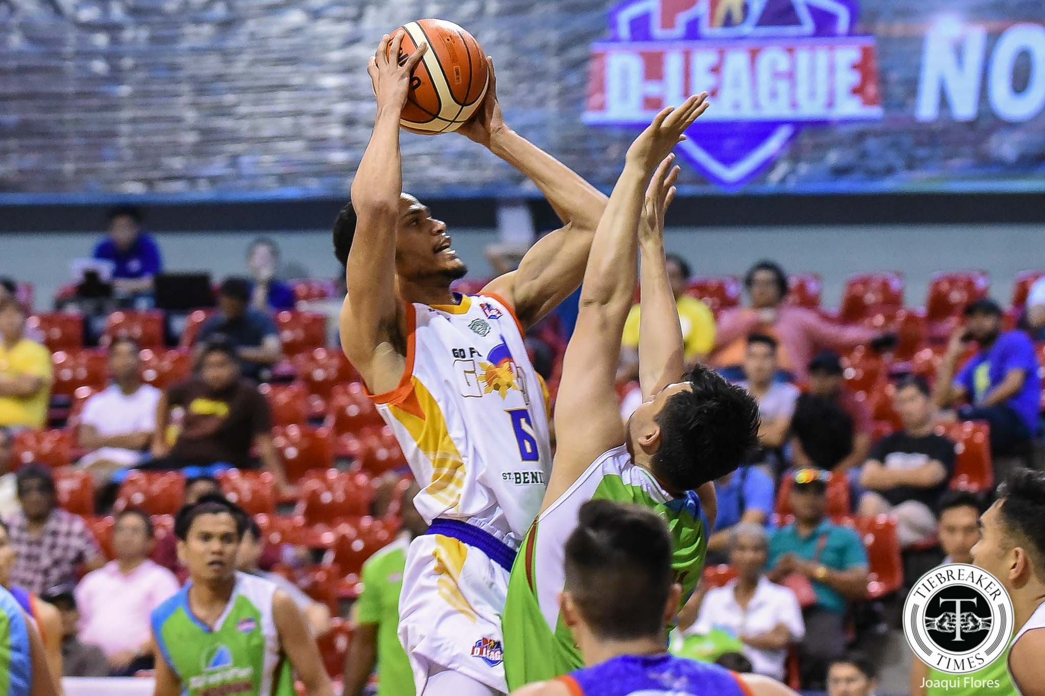 Tiebreaker Times Roosevelt Adams starting to find groove with Go for Gold-CSB Basketball News PBA D-League  Roosevelt Adams Go for Gold-CSB 2019 PBA D-League Season