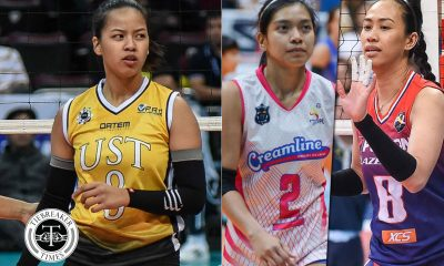 Tiebreaker Times Eya Laure honored to be aligned with childhood idols in PWNVT pool News Volleyball  Philippine Women's National Volleyball Team Eya Laure Alyssa Valdez
