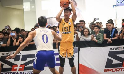 Tiebreaker Times Thirdy Ravena gives high praise to UST's Rhenz Abando: 'He's gonna be a threat' 3x3 Basketball News UAAP UST  UST Men's Basketball UAAP Season 81 Men's 3x3 Basketball UAAP Season 81 Thirdy Ravena Rhenz Abando
