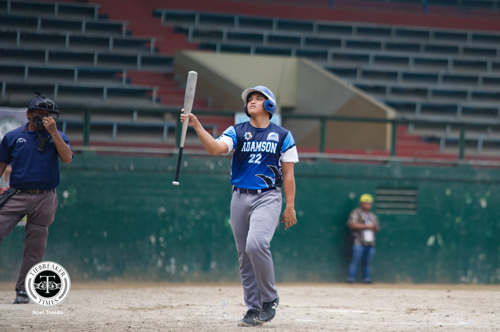 Tiebreaker Times Erwin Bosito sparks early surge against UST as Adamson stays alive in Finals race AdU Baseball News UAAP UST  Vince Terible UST Golden Sox UAAP SEASON 81 Baseball UAAP Season 81 Orlando Binarao Mark Geronilla Lexter Carandang John Lipalam Jeffrey Santiago Erwin Bosito Adamson Baseball
