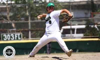 Tiebreaker Times Lu Minana puts up gutsy performance as La Salle escapes Ateneo to take Game 1 ADMU Baseball DLSU News UAAP  UAAP SEASON 81 Baseball UAAP Season 81 Joseph Orillana DLSU Baseball Bocc Bernardo Ateneo Baseball