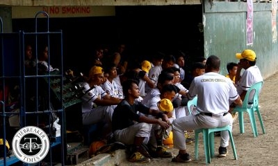 Tiebreaker Times Jeffrey Santiago gives struggling UST Golden Sox one-hour post-game lecture Baseball News UAAP UST  UST Golden Sox UAAP SEASON 81 Baseball UAAP Season 81 Jeffrey Santiago