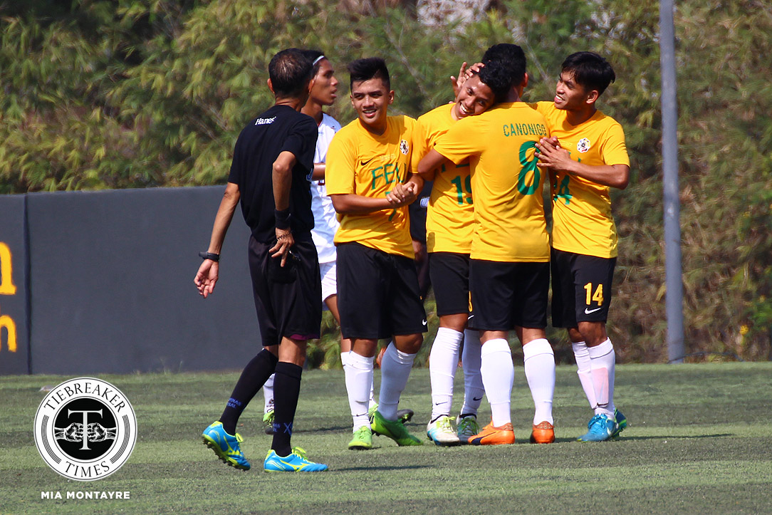 Tiebreaker Times Resolute FEU Tamaraws sink UP to back-to-back defeats FEU Football News UAAP UP  UP Men's Football UAAP Season 81 Men's Football UAAP Season 81 Park Bo Bae Minsu Park Jermi Darapan Harel Dayan FEU Men's Football Dave Parac Anto Gonzales Anthony Decena