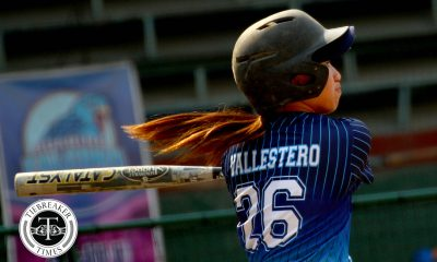 Tiebreaker Times Arianne Vallestero picks up 3rd HR as top seed Adamson holds off also-ran UE AdU News UAAP UE Volleyball  UE Softball UAAP Season 81 Softball UAAP Season 81 Lovely Redaja Lourdes Blanco Jeanette Rusia Imee Salvador Edzel Bacarisas Arlyn Bautista Arianne Vallestero Ana Santiago Adamson Softball