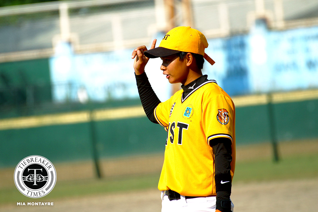 Tiebreaker Times UST Tiger Softbelles end Arribas-led La Salle's dream run, advance to Finals DLSU News Softball UAAP UST  UST Tiger Softbelles UAAP Season 81 Softball UAAP Season 81 Trisha Tiolon Tin Palma Sandy Barredo Mercy Arroyo Lea Guevarra Kiana juan Jamica Arribas DLSU Softball Celyn Ojare Badeth Benson