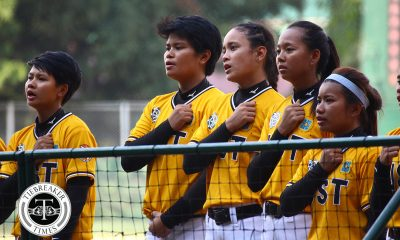 Tiebreaker Times UST Tiger Softbelles romp Ateneo as Charlotte Sales gains HR lead ADMU News Softball UAAP UST  UST Tiger Softbelles UAAP Season 81 Softball UAAP Season 81 Sandy Barredo Kevyn Lacson Joy Lasquite Charlotte Sales Celyn Otare Ateneo Softball
