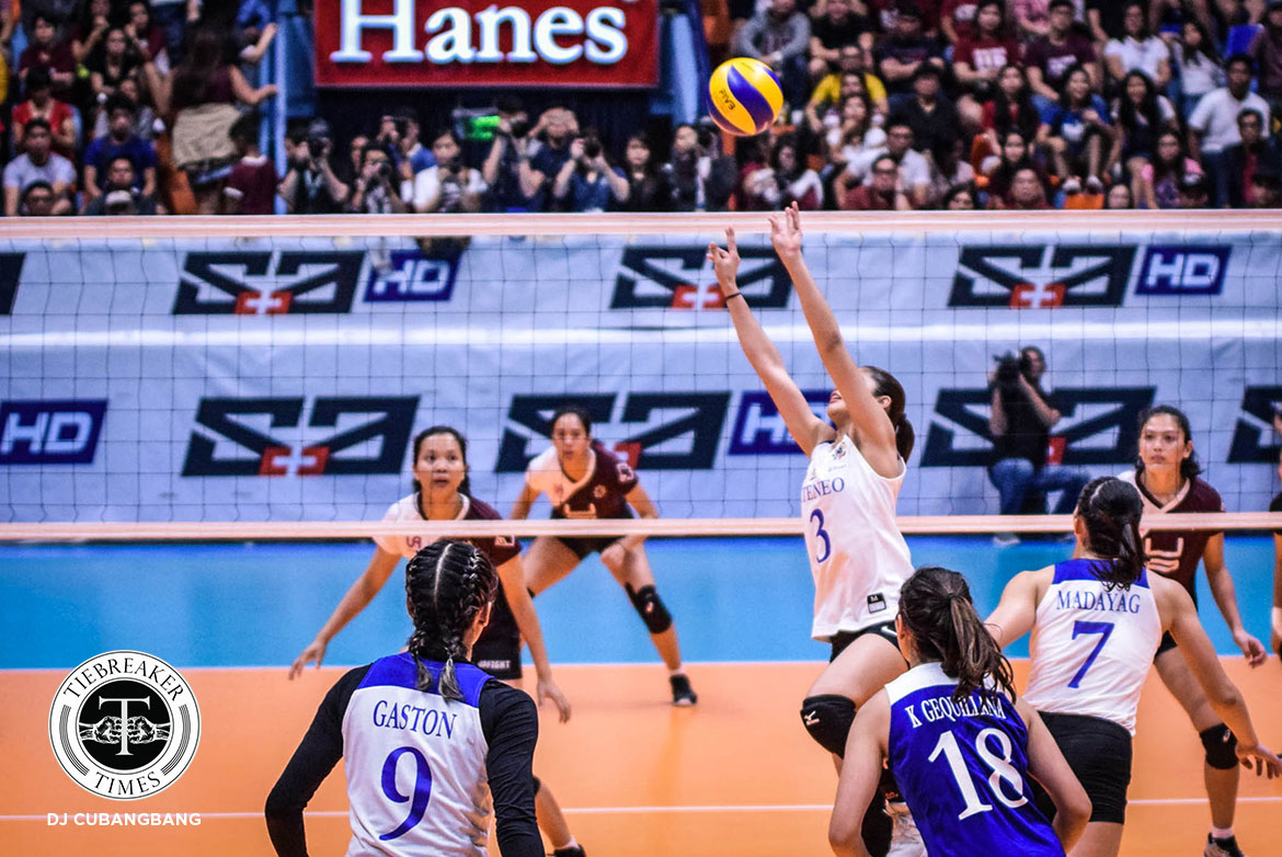 Tiebreaker Times Oliver Almadro on Deanna Wong: 'I want her to be the Best Setter that she is' ADMU News UAAP Volleyball  UAAP Season 81 Women's Volleyball UAAP Season 81 Oliver Almadro Deanna Wong Ateneo Women's Volleyball