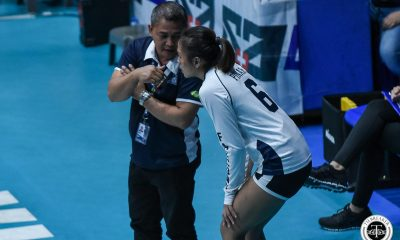 Tiebreaker Times Onyok Getigan left frustrated after Ateneo loss: 'Dapat malalim ang disiplina' AdU News UAAP Volleyball  UAAP Season 81 Women's Volleyball UAAP Season 81 Onyok Getigan Adamson Women's Volleyball