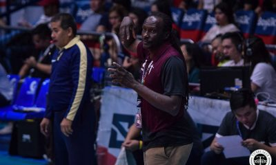 Tiebreaker Times Godfrey Okumu laments UP's effort: 'The fight wasn't there in us today' News UAAP UP Volleyball  UP Women's Volleyball UAAP Season 81 Women's Volleyball UAAP Season 81 Godfrey Okumu