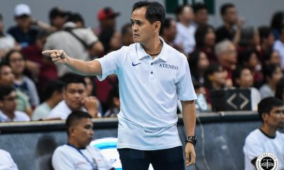 Tiebreaker Times Oliver Almadro was immediately concerned when Isa Molde went down ADMU News UAAP UP Volleyball  UP Women's Volleyball UAAP Season 81 Women's Volleyball UAAP Season 81 Oliver Almadro Isa Molde Ateneo Women's Volleyball